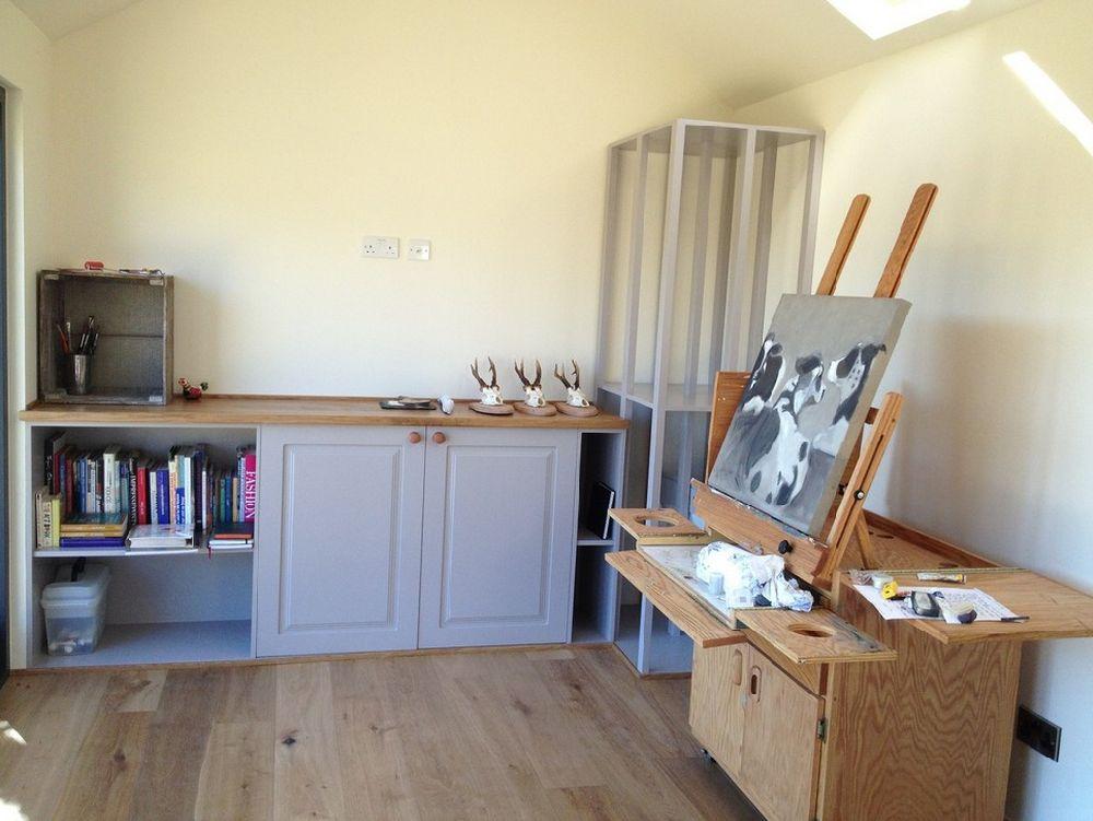adelaparvu.com despre casuta de gradina atelier de pictura, foto JML Garden Room  (6)