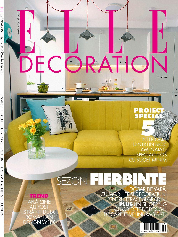 adelaparvu.com despre editia de vara 2015 Elle Decoration  (1)