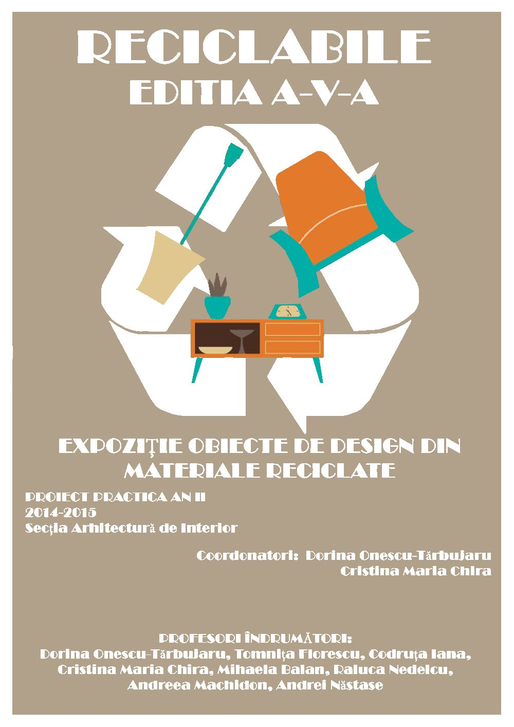 adelaparvu.com despre expozitia cu obiecte reciclate a Studentilor la arhitectura de interior UNAUIM, editia a 6 a (41)