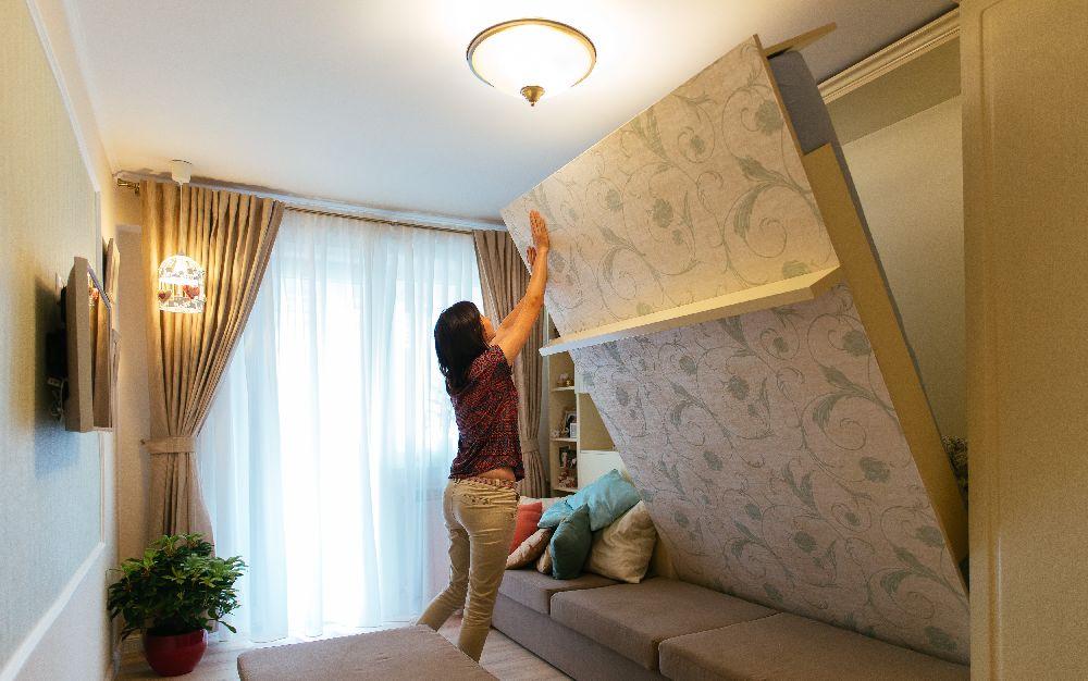 adelaparvu.com despre garsoniera 30 mp, in Suceava, Romania, designer interior Manuela Cosovanu, Foto Ovidiu Lesan (18)