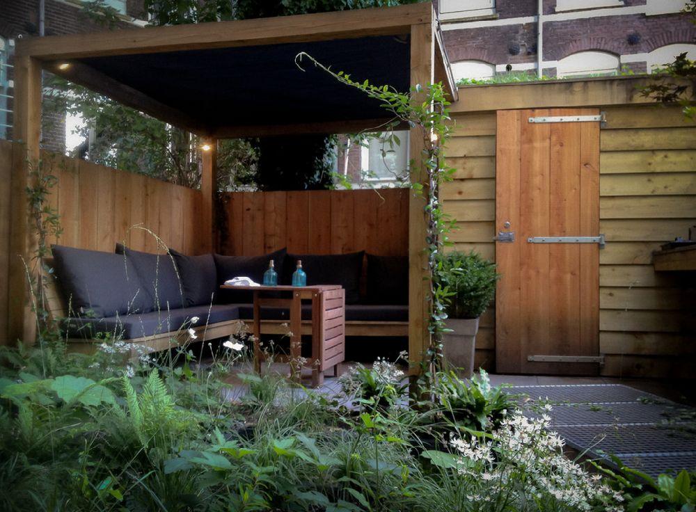 adelaparvu.com despre gradina mica urbana, design Arjan Boekel, gradina Amsterdam (1)