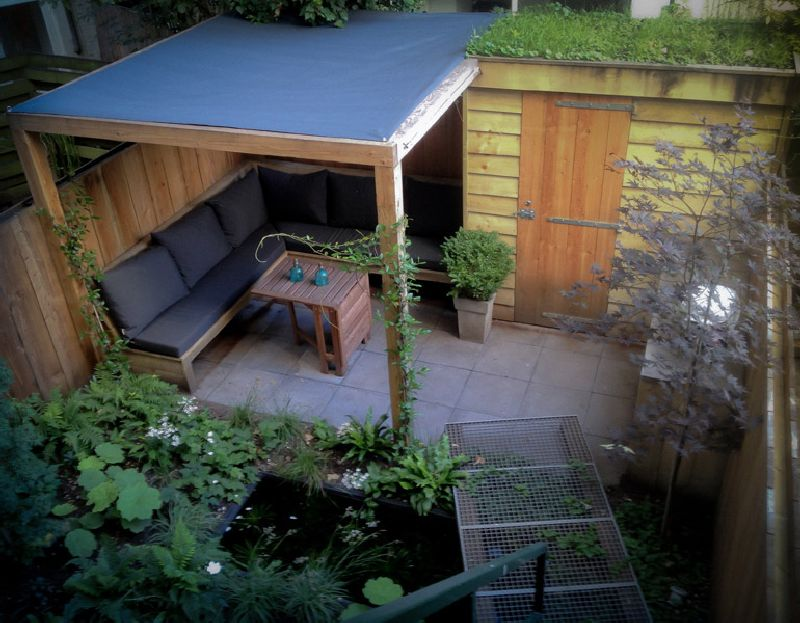 adelaparvu.com despre gradina mica urbana, design Arjan Boekel, gradina Amsterdam (13)