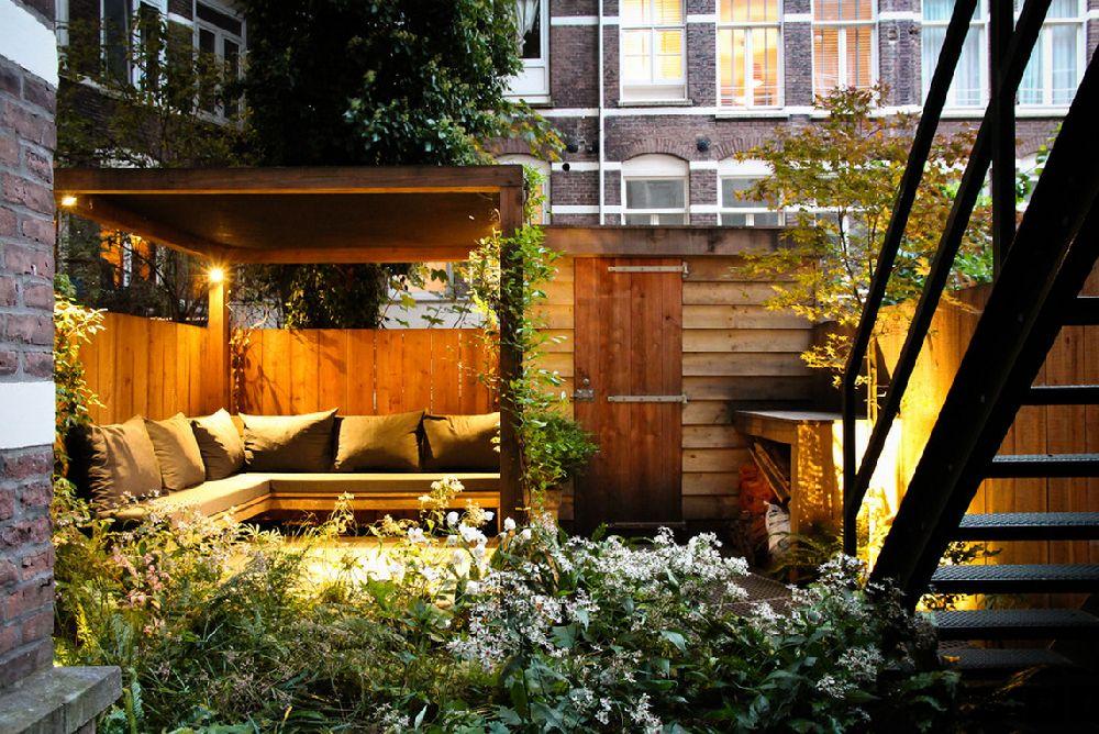 adelaparvu.com despre gradina mica urbana, design Arjan Boekel, gradina Amsterdam (4)