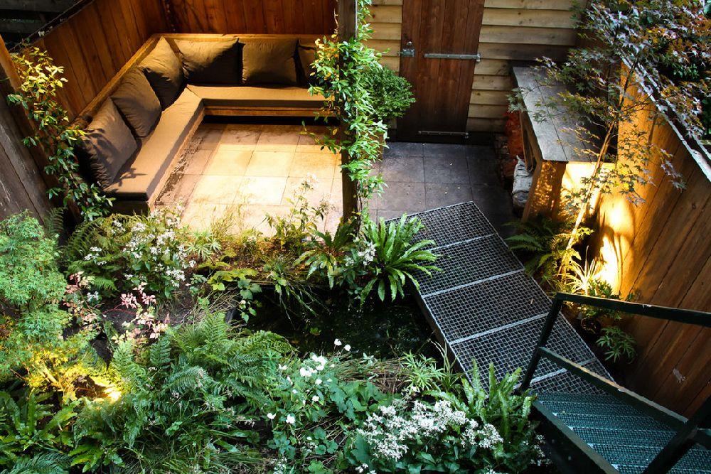 adelaparvu.com despre gradina mica urbana, design Arjan Boekel, gradina Amsterdam (6)