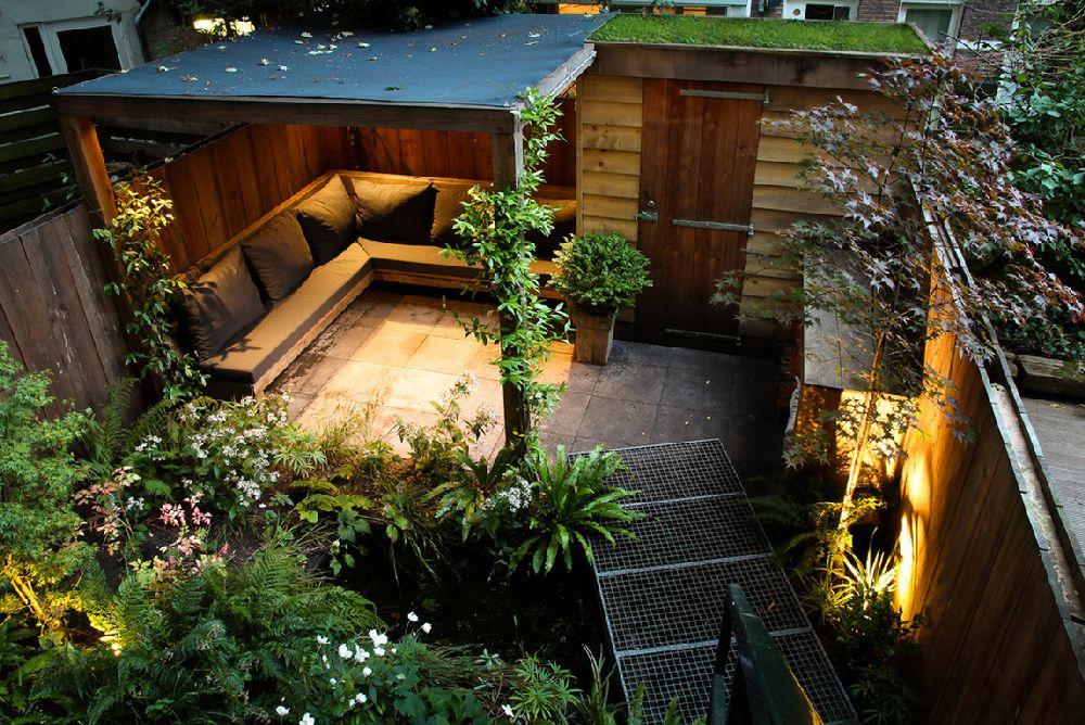 adelaparvu.com despre gradina mica urbana, design Arjan Boekel, gradina Amsterdam (9)