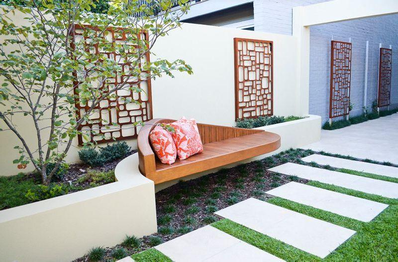 adelaparvu.com despre gradina mica urbana, design Steve Warner, Outhouse Design (3)