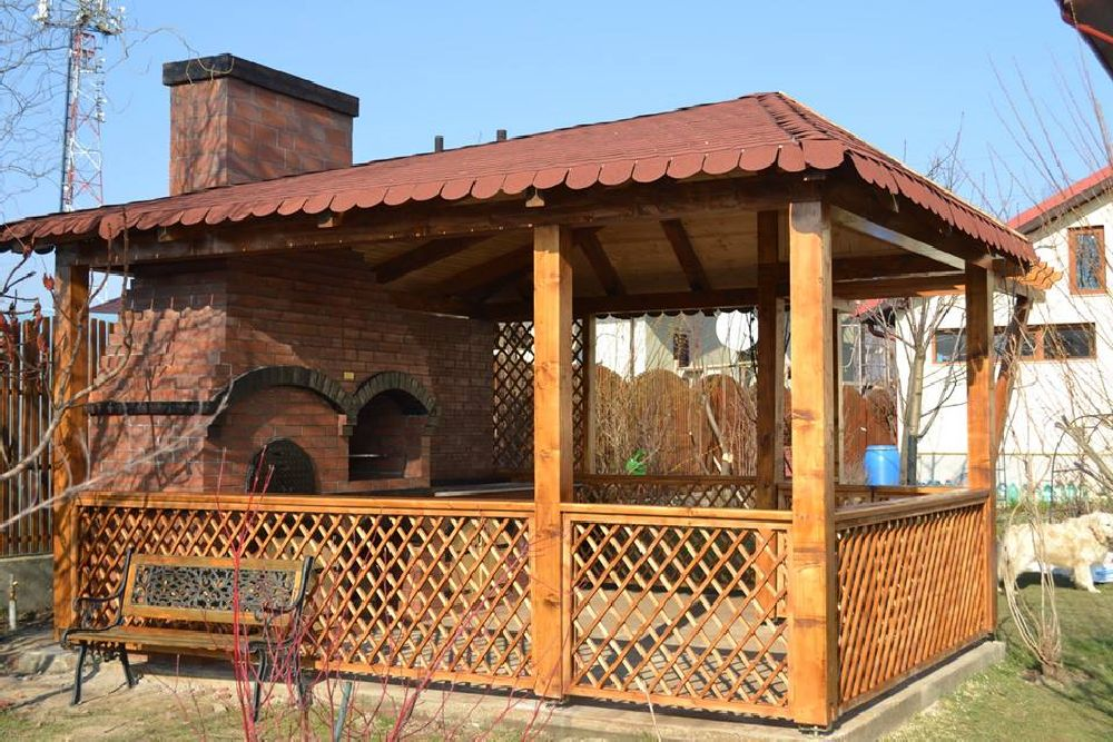 adelaparvu.com despre gratare zidite in gradina, design Gratarul Dragomir (1)