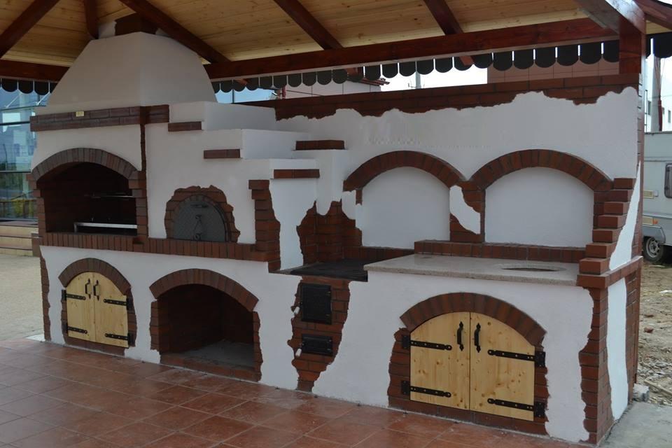 adelaparvu.com despre gratare zidite in gradina, design Gratarul Dragomir (3)