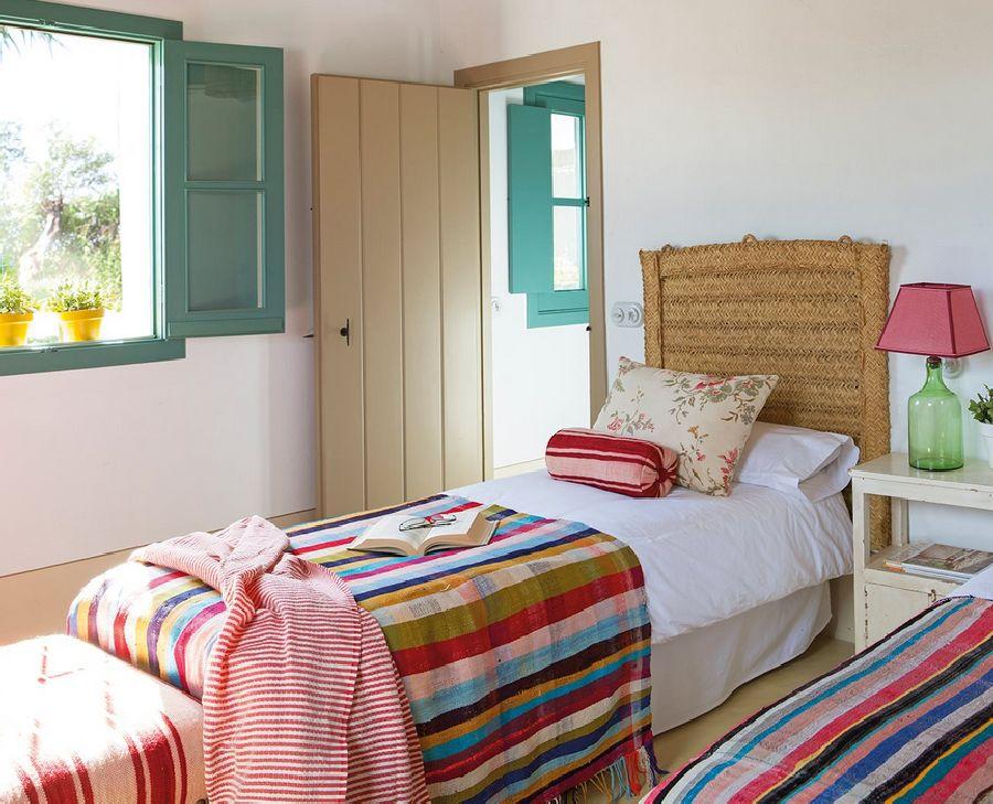adelaparvu.com despre casa Andaluzia, casa de vacanta rustica si colorata, design interior Amparo Garrido, Foto ElMueble (11)