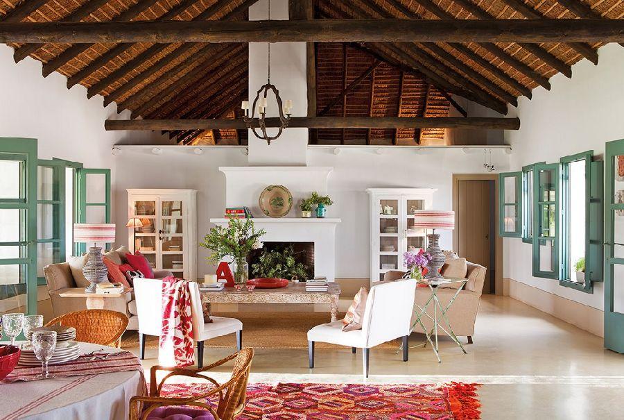 adelaparvu.com despre casa Andaluzia, casa de vacanta rustica si colorata, design interior Amparo Garrido, Foto ElMueble (6)