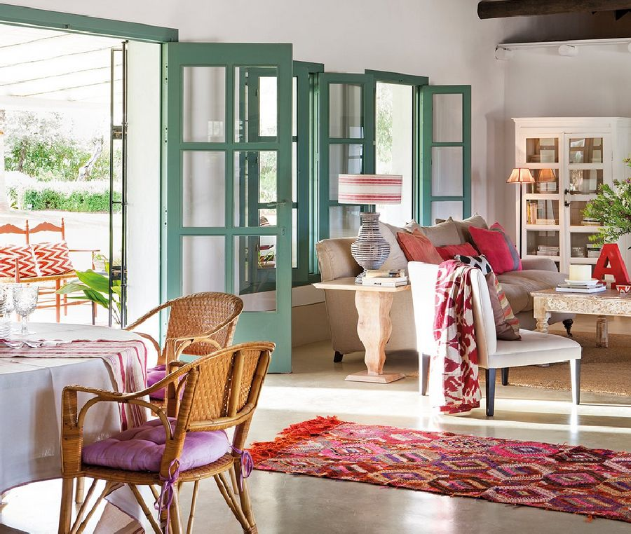 adelaparvu.com despre casa Andaluzia, casa de vacanta rustica si colorata, design interior Amparo Garrido, Foto ElMueble (7)