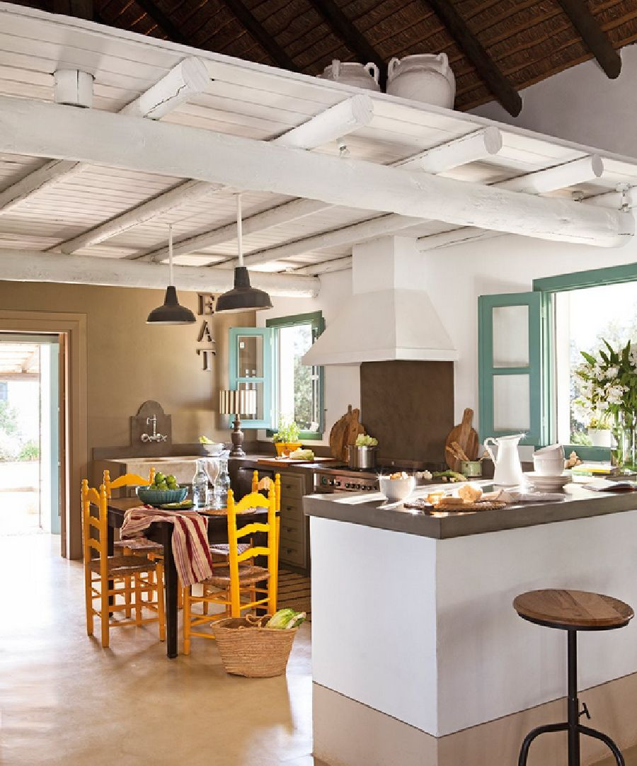 adelaparvu.com despre casa Andaluzia, casa de vacanta rustica si colorata, design interior Amparo Garrido, Foto ElMueble (8)