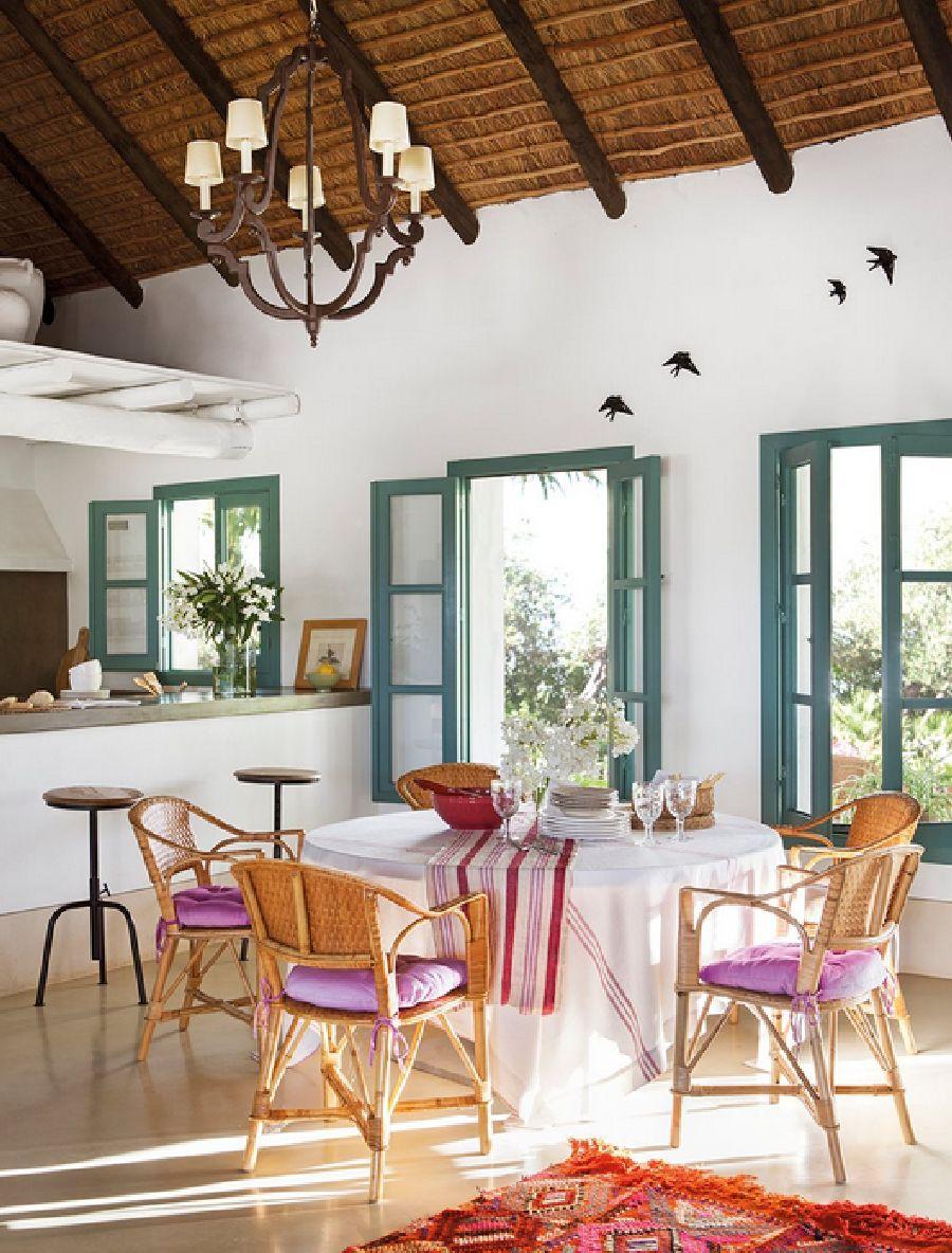 adelaparvu.com despre casa Andaluzia, casa de vacanta rustica si colorata, design interior Amparo Garrido, Foto ElMueble (9)