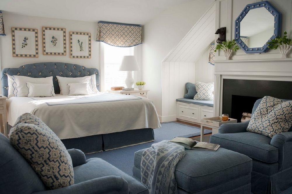 adelaparvu.com despre casa de vacanta in alb si albastru, casa SUA  Nantucket, Design interior T. Keller Donovan, Foto John Bessler Photography (7)