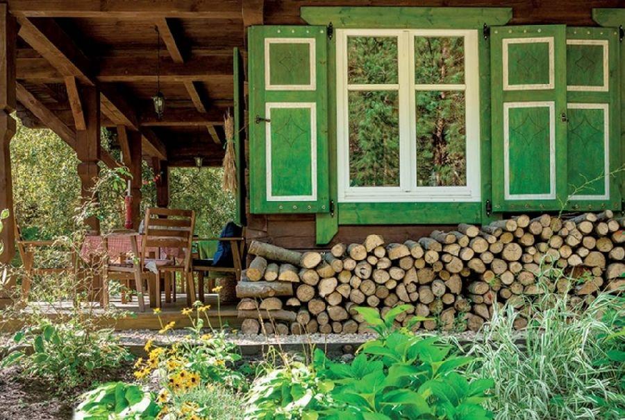 adelaparvu.com despre casa din lemn, csa si pensiune Polonia, Kolonia Mazurska Mierki (15)