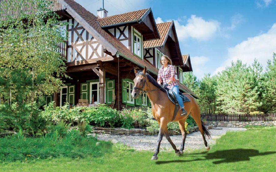 adelaparvu.com despre casa din lemn, csa si pensiune Polonia, Kolonia Mazurska Mierki (19)