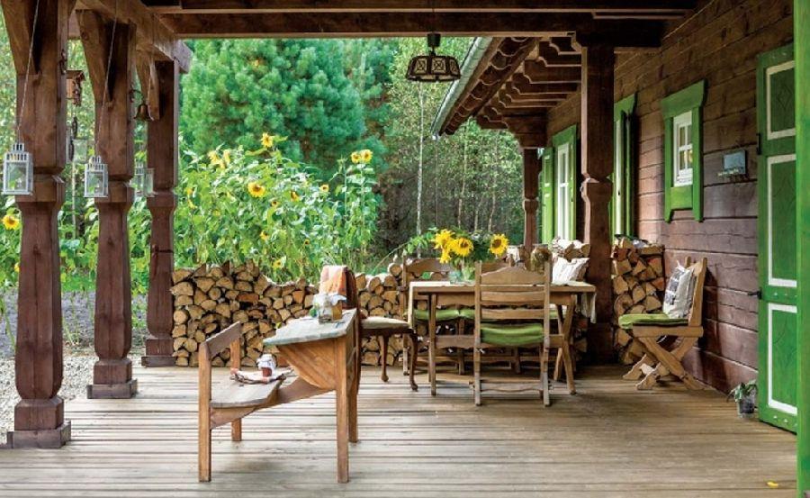 adelaparvu.com despre casa din lemn, csa si pensiune Polonia, Kolonia Mazurska Mierki (22)