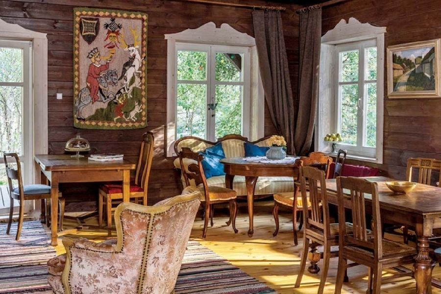 adelaparvu.com despre casa din lemn, csa si pensiune Polonia, Kolonia Mazurska Mierki (24)
