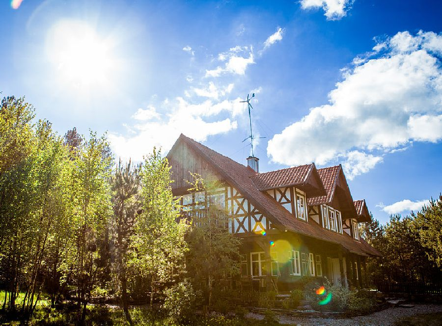 adelaparvu.com despre casa din lemn, csa si pensiune Polonia, Kolonia Mazurska Mierki (3)