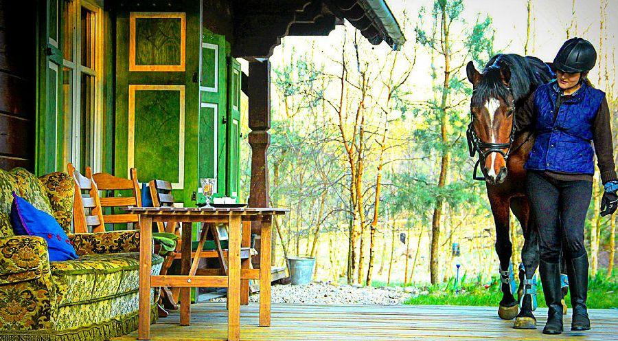 adelaparvu.com despre casa din lemn, csa si pensiune Polonia, Kolonia Mazurska Mierki (7)