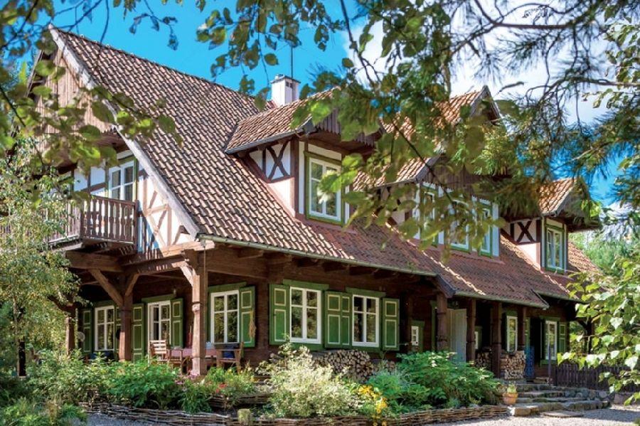 adelaparvu.com despre casa din lemn, csa si pensiune Polonia, Kolonia Mazurska Mierki (8)