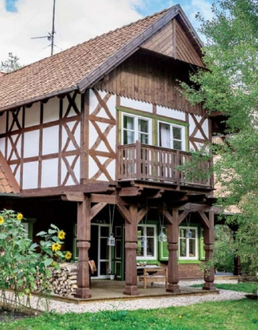 adelaparvu.com despre casa din lemn, csa si pensiune Polonia, Kolonia Mazurska Mierki (9)