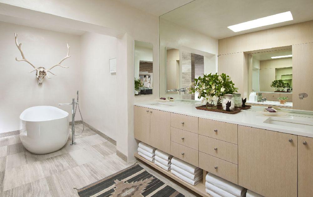 adelaparvu.com despre casa mexicana cu interior rustic si modern, casa SUA, Santa Fe, design interior Brant McFarlain  (11)