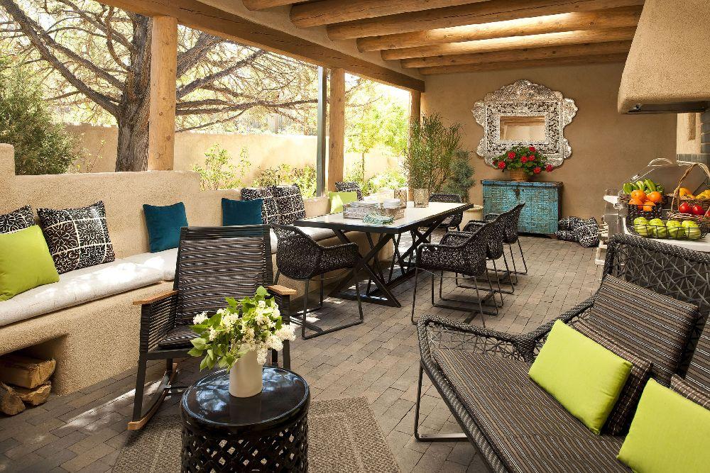 adelaparvu.com despre casa mexicana cu interior rustic si modern, casa SUA, Santa Fe, design interior Brant McFarlain  (15)