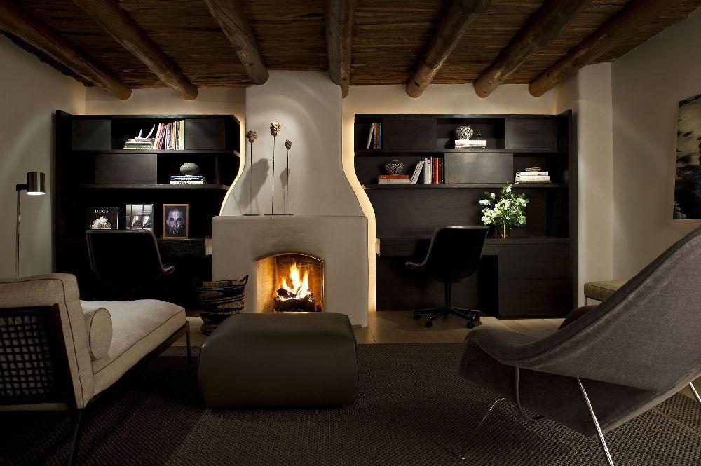 adelaparvu.com despre casa mexicana cu interior rustic si modern, casa SUA, Santa Fe, design interior Brant McFarlain  (5)
