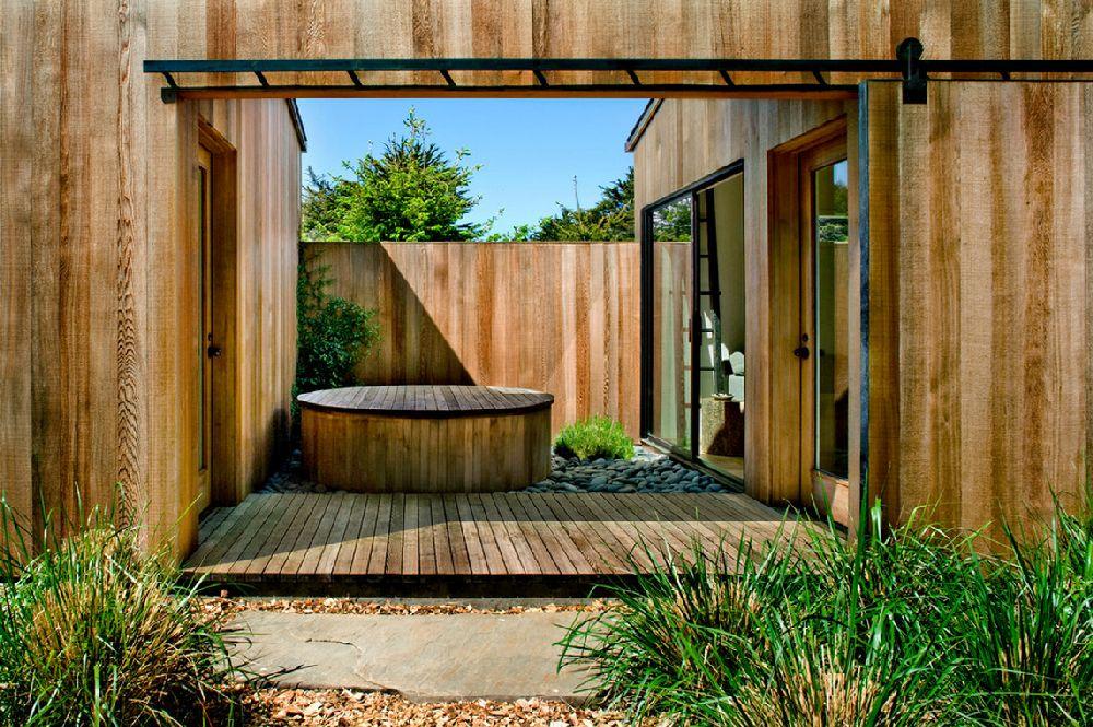 adelaparvu.com despre casa minimalista pe malul marii, Arhitectura Turnbull Griffin Haesloop, Foto David Wakely (1)