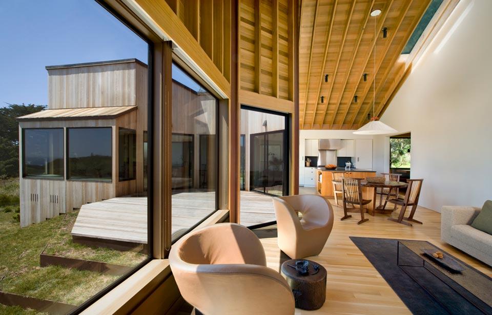 adelaparvu.com despre casa minimalista pe malul marii, Arhitectura Turnbull Griffin Haesloop, Foto David Wakely (10)