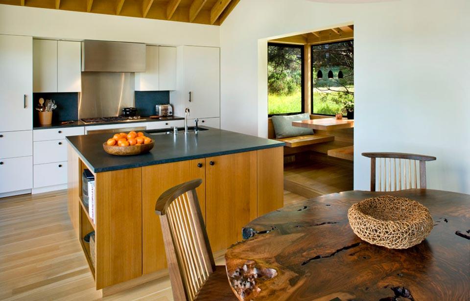 adelaparvu.com despre casa minimalista pe malul marii, Arhitectura Turnbull Griffin Haesloop, Foto David Wakely (12)