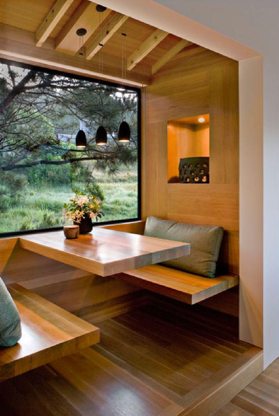 adelaparvu.com despre casa minimalista pe malul marii, Arhitectura Turnbull Griffin Haesloop, Foto David Wakely (13)