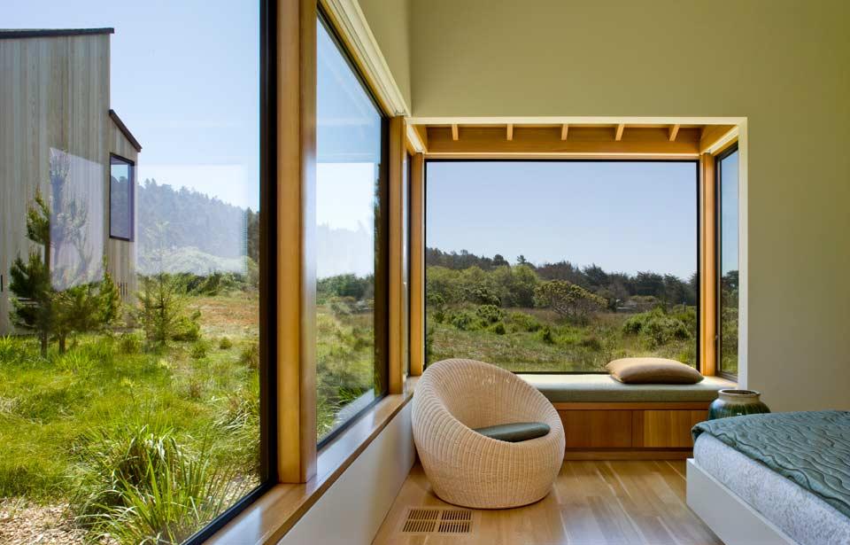 adelaparvu.com despre casa minimalista pe malul marii, Arhitectura Turnbull Griffin Haesloop, Foto David Wakely (15)