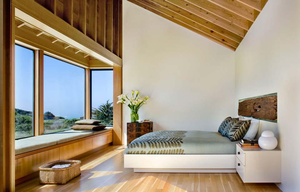 adelaparvu.com despre casa minimalista pe malul marii, Arhitectura Turnbull Griffin Haesloop, Foto David Wakely (16)
