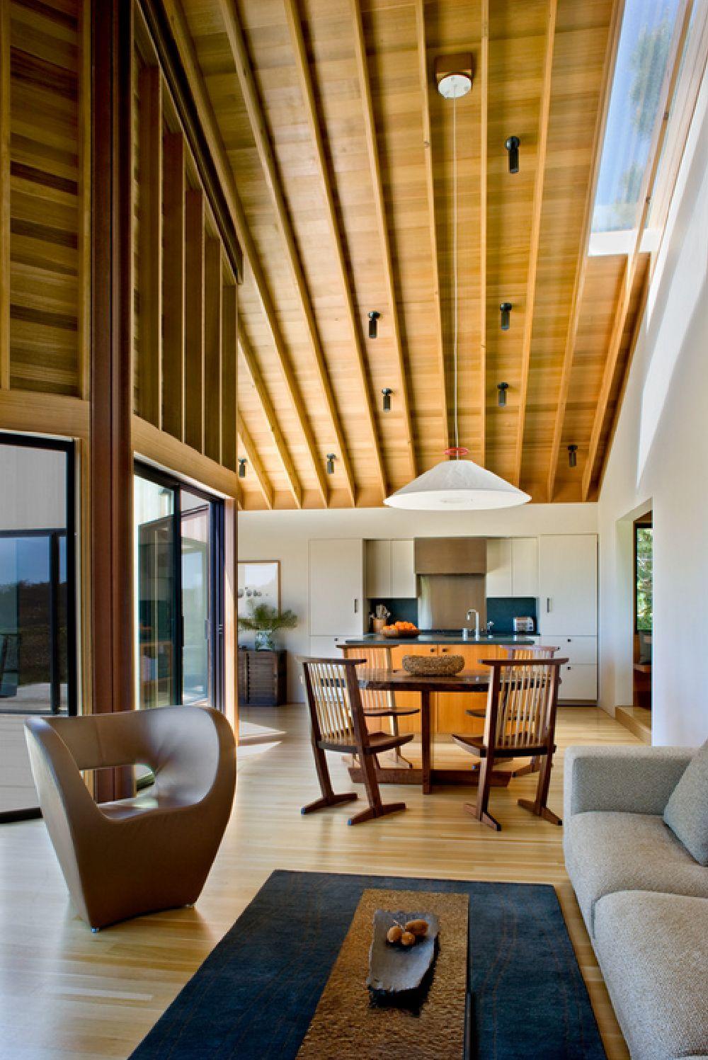 adelaparvu.com despre casa minimalista pe malul marii, Arhitectura Turnbull Griffin Haesloop, Foto David Wakely (2)