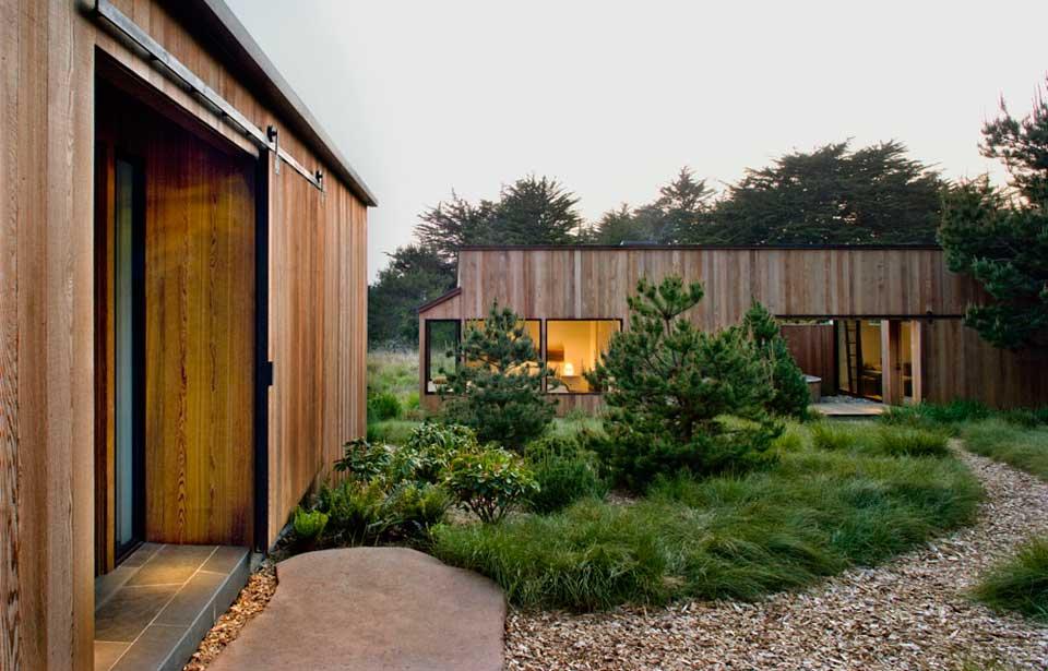 adelaparvu.com despre casa minimalista pe malul marii, Arhitectura Turnbull Griffin Haesloop, Foto David Wakely (5)