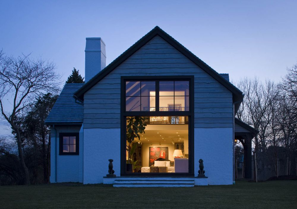 adelaparvu.com despre casa rustica cu interior galerie de arta, casa SUA, Newport Art Barn, Arhitectura Mark P. Finlay Architects, Foto Warren Jagger (3)