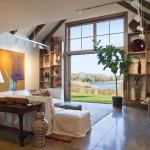 adelaparvu.com despre casa rustica cu interior galerie de arta, casa SUA, Newport Art Barn, Arhitectura Mark P. Finlay Architects, Foto Warren Jagger (6)