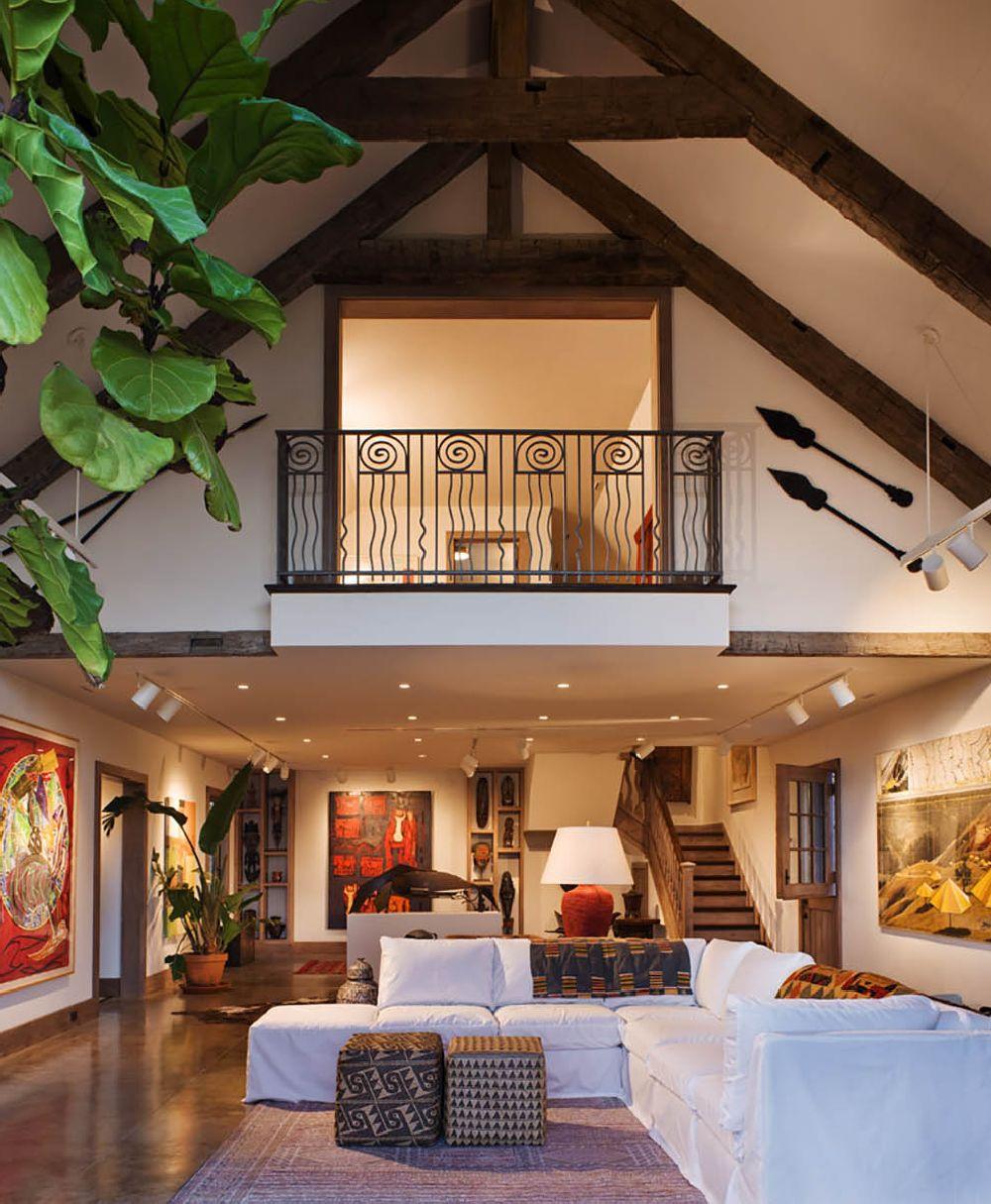 adelaparvu.com despre casa rustica cu interior galerie de arta, casa SUA, Newport Art Barn, Arhitectura Mark P. Finlay Architects, Foto Warren Jagger (8)