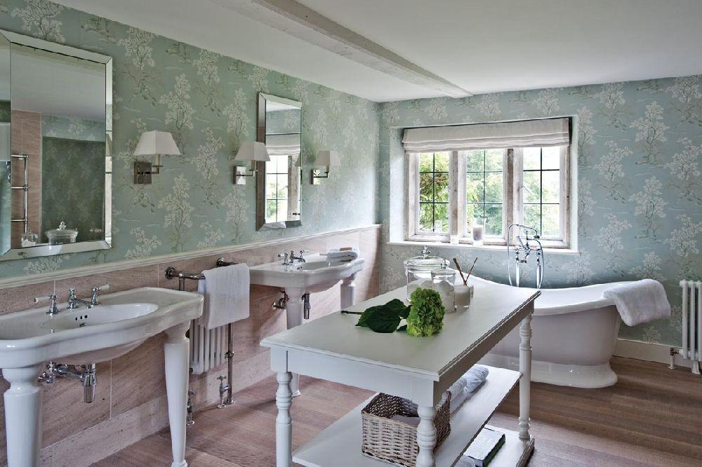 adelaparvu.com despre casa veche Anglia decorata in pasteluri, Design Interior Sims Hilditch Interior Design, Dorset Manor House, Foto Polly Eltes (2)