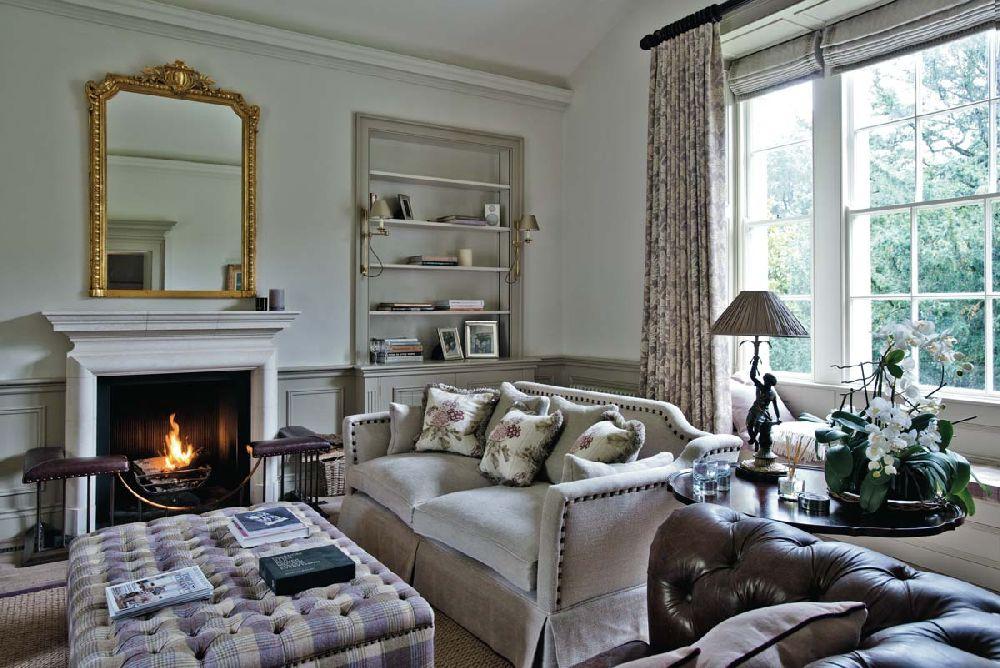 adelaparvu.com despre casa veche Anglia decorata in pasteluri, Design Interior Sims Hilditch Interior Design, Dorset Manor House, Foto Polly Eltes (6)