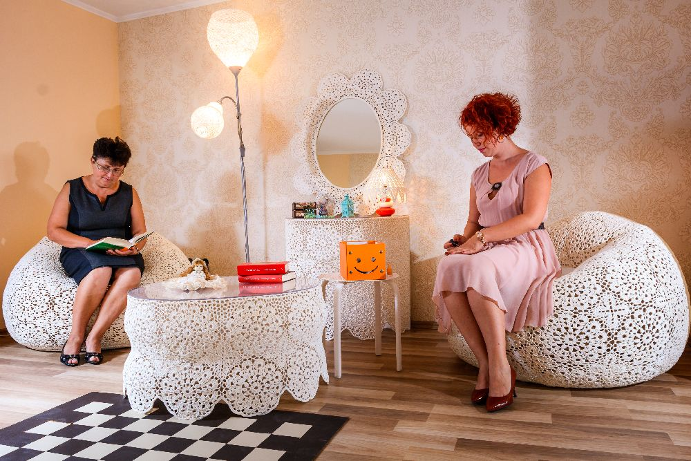 adelaparvu.com despre mobilier crosetat, Artist Silvia Junjan, jsartdesign (2)