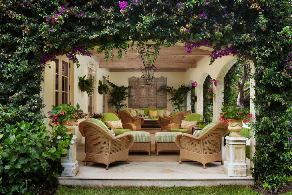 adelaparvu.com despre terasa exotica, terasa Palm Beach, SUA, design interior Kemble Interiors, Foto Brantley Photography (1)