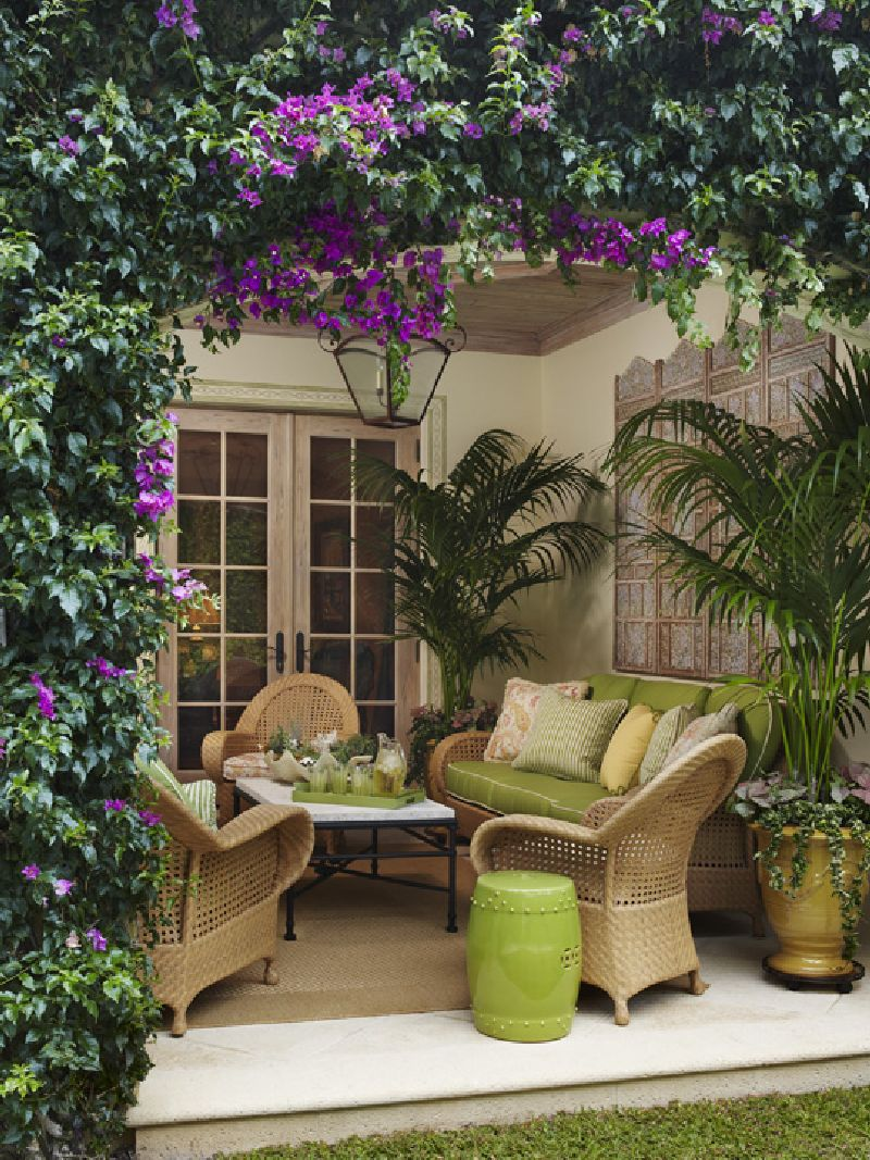 adelaparvu.com despre terasa exotica, terasa Palm Beach, SUA, design interior Kemble Interiors, Foto Brantley Photography (4)