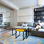 adelaparvu.com despre amenajare garsoniera de 25 mp, DesignerOlga Alexeeva, Foto Design Studio Black & Milk Residential  (13)