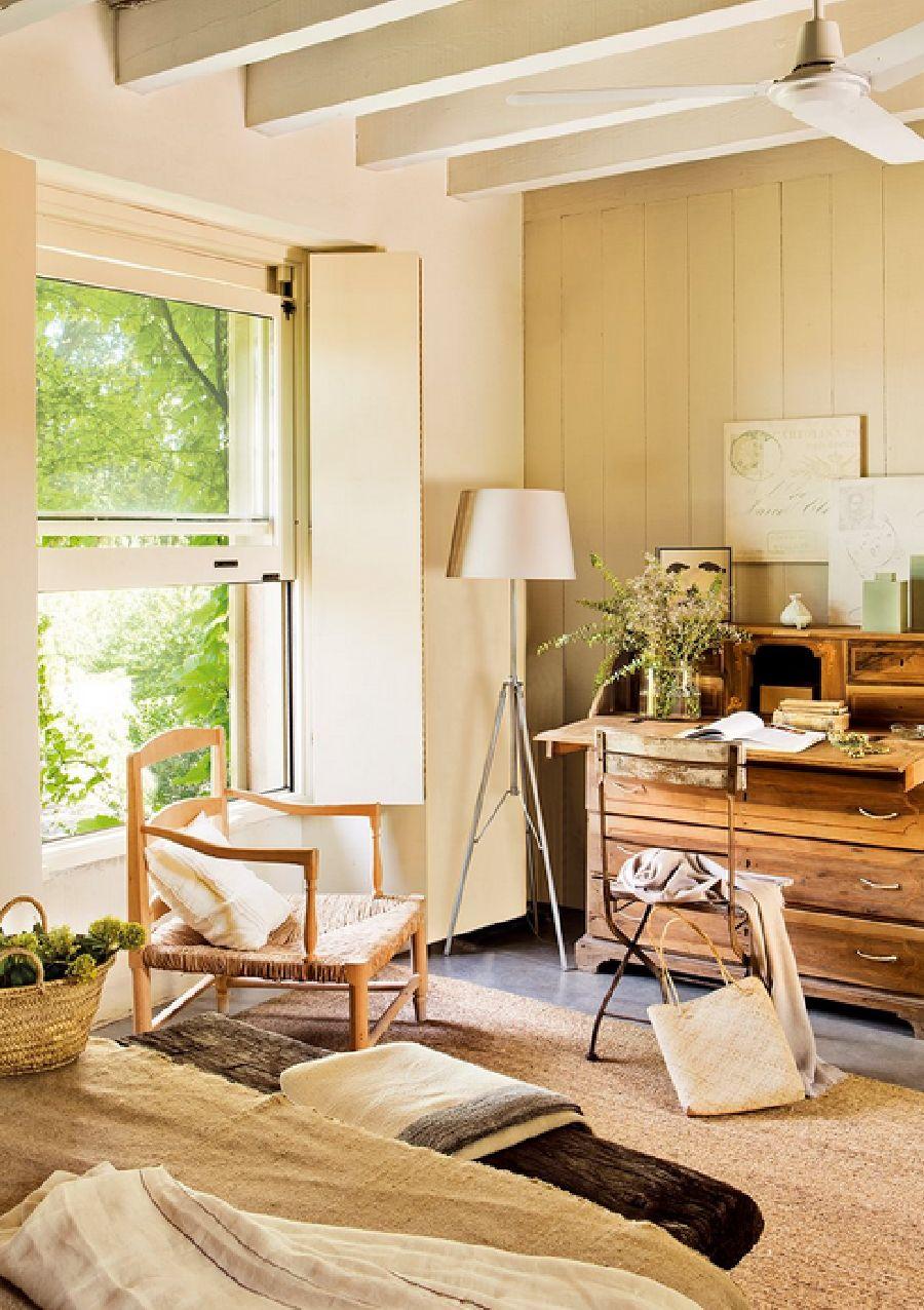 adelaparvu.com despre casa noua cu aspect rustic vechi, casa Spania, Emporda, Arhitect Lluis Auquer, Designer Ana Genero, Foto ElMueble (11)