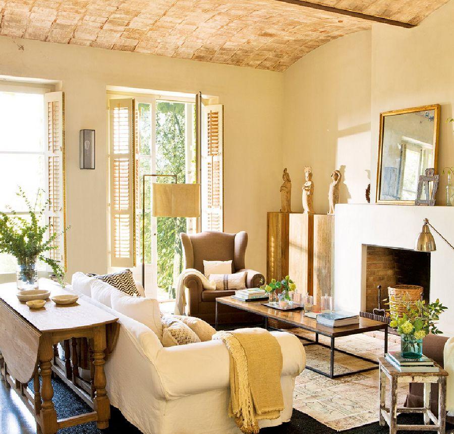 adelaparvu.com despre casa noua cu aspect rustic vechi, casa Spania, Emporda, Arhitect Lluis Auquer, Designer Ana Genero, Foto ElMueble (2)