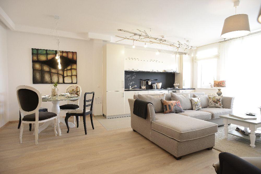 adelaparvu.com despre Apartament cu 1 dormitor, designer Irina Neacsu, Craftlab, Foto Hanner The Park (1)