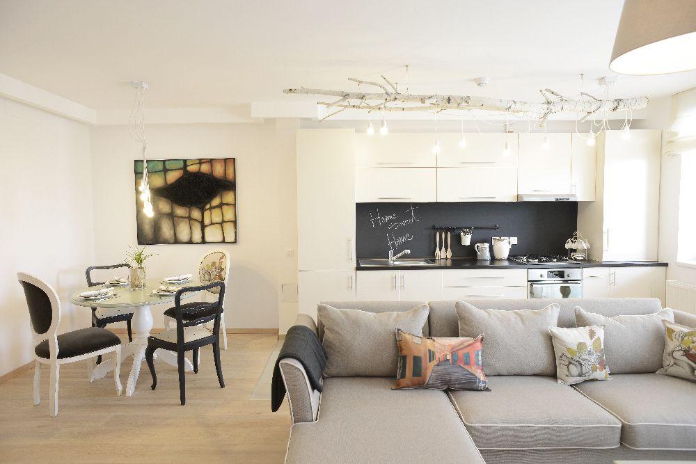 adelaparvu.com despre Apartament cu 1 dormitor, designer Irina Neacsu, Craftlab, Foto Hanner The Park (2)